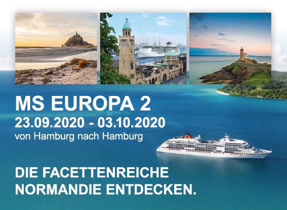 MS EUROPA 2 Reise - Normandie